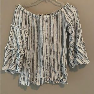 Drew Off Shoulder Top - EVERYTHING MUST SELL TODAY